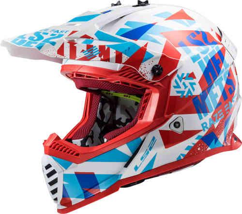 \5/5★キャッシュレス実質9%引/【子供用】LS2 エルエスツー MX437 Fast Mini Evo Funky 子供用 キッズ モトクロスヘルメット オフロードヘルメット ライダー バイク かっこいい おすすめ (AMACLUB)