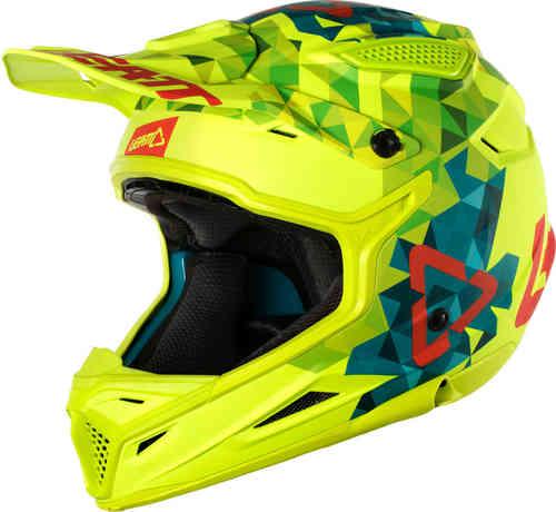 Leatt リアット GPX 4.5 V22 モトクロスヘルメット オフロードヘルメット ライダー バイク かっこいい おすすめ (AMACLUB)