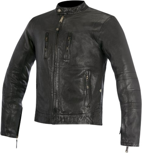\5/5★キャッシュレス実質9%引/Alpinestars アルパインスター Oscar Brass Jacket レザージャケット ライディングジャケット ライダー バイク ツーリングにも かっこいい おすすめ (AMACLUB)