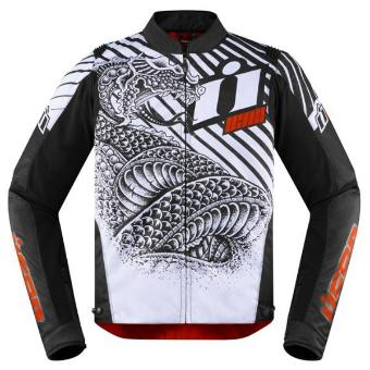 【3/10実質8%引ポイント3+5倍】Icon アイコン Overlord SB2 Serpecant Jacket ライディングジャケット ライダー バイク ツーリングにも かっこいい おすすめ (AMACLUB)