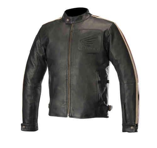 \5/5★キャッシュレス実質9%引/【3XLまで】Alpinestars アルパインスター Honda Charlie オートバイの革のジャケットライダー バイク ツーリングにも かっこいい 大きいサイズあり おすすめ (AMACLUB)