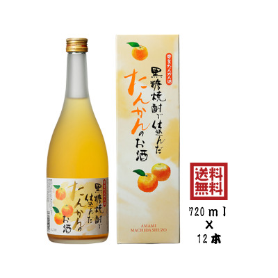 贈答用 町田酒造 奄美 たんかん酒 12度 720ml 12本 箱入
