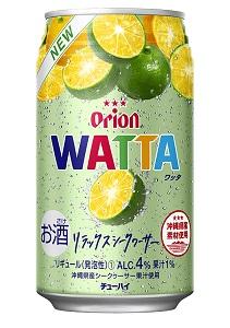 オリオンチューハイ 2ケースまで送料1個口分でお届け 迅速な対応で商品をお届け致します オリオンビール 酎ハイ WATTA リラックスシークヮーサー 4% ワッタ 日本製 350ml×24本 1ケース
