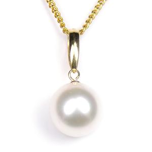 真珠 パール ネックレス あこや 送料無料 あこやパール8.5~9.0mm K18 ゴールド ネックレスペンダント