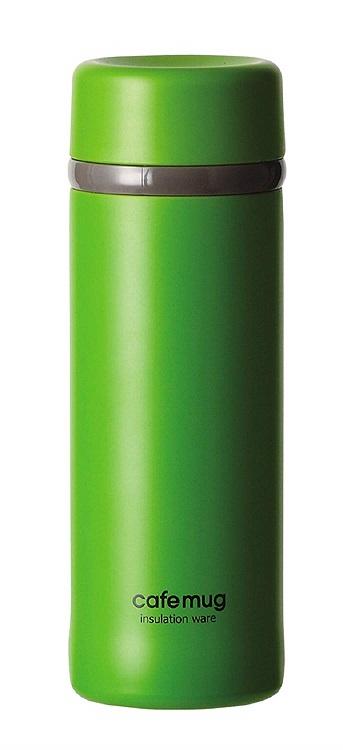 マグボトル 300ml メーカー直売 大決算セール 小さい水筒 ボトル マイボトル パール金属 おしゃれ 水筒 HB-4003 グラスグリーン かわいい カフェマグアンティーク