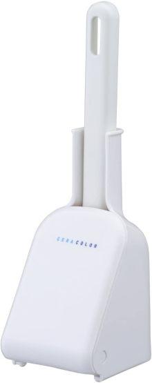 簡単 便利 清潔 人気 省スペース 白 新生活 一人暮らし レック 06484 ホワイト ケース付 (訳ありセール 格安) 引き出物 トイレクリーナー ミニ B-464 トイレブラシ CERA COLOR