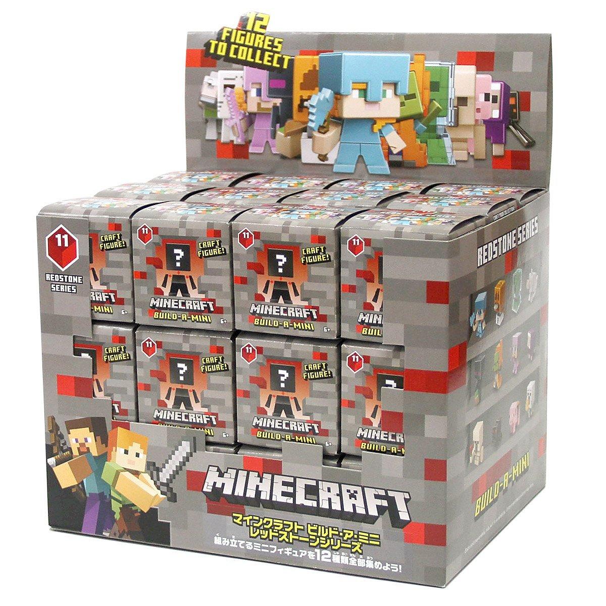 マインクラフト ミニフィギュア ビルド・ア・ミニ レッドストーンシリーズ 36個入りBOX マイクラ