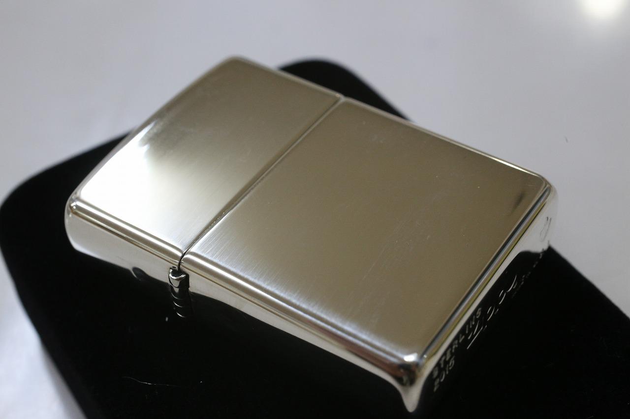 【正規品・純銀ZIPPO】純銀 アーマーZIPPO #26 ハイポリッシュ ジッポ 人気 純銀アーマージッポ スターリングシルバー925