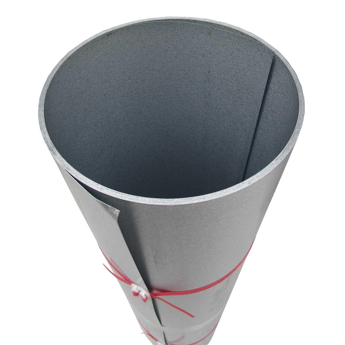 ガルバリウム鋼板生地(素地) カットコイル 厚み:0.3 幅:約914mm 長さ:10m巻き ガルバ生地