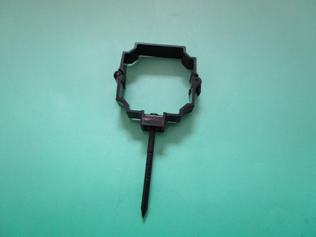 S30 パッチン控 打込み 低価格化 付与 プラスチック ステンレス 黒 ブラック KBP86611 L=80