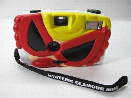 ヒステリックミニ カメラ フラッシュ付き35mmフィルム用カメラ