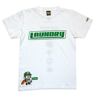 Laundry DELIVERY BOY T shirt White SS