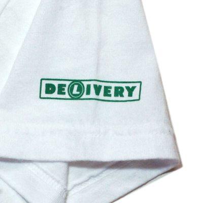 洗衣交付男孩 T 恤白色 SS