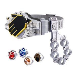 Kamen Rider transformation belt DX wither driver & DX on holder set