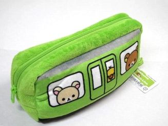 Rilakkuma Yamanote Line pencil case