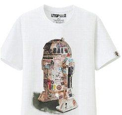 UT유니크로스타워즈 T셔츠등 구가나무 R2D2 XL