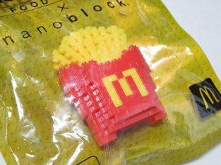 McDonald's X nano block Mac potato
