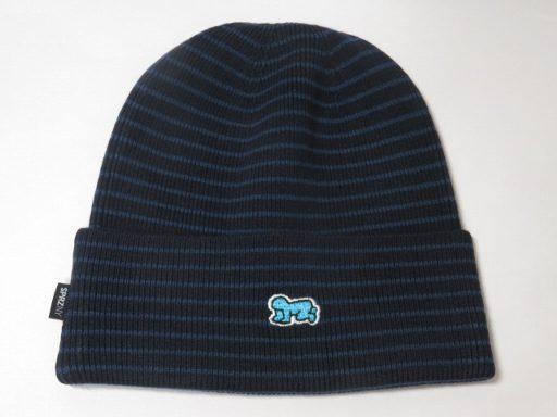 2030c2bd7c4 amax  UT Uniqlo Keith Haring knit CAP dark blue