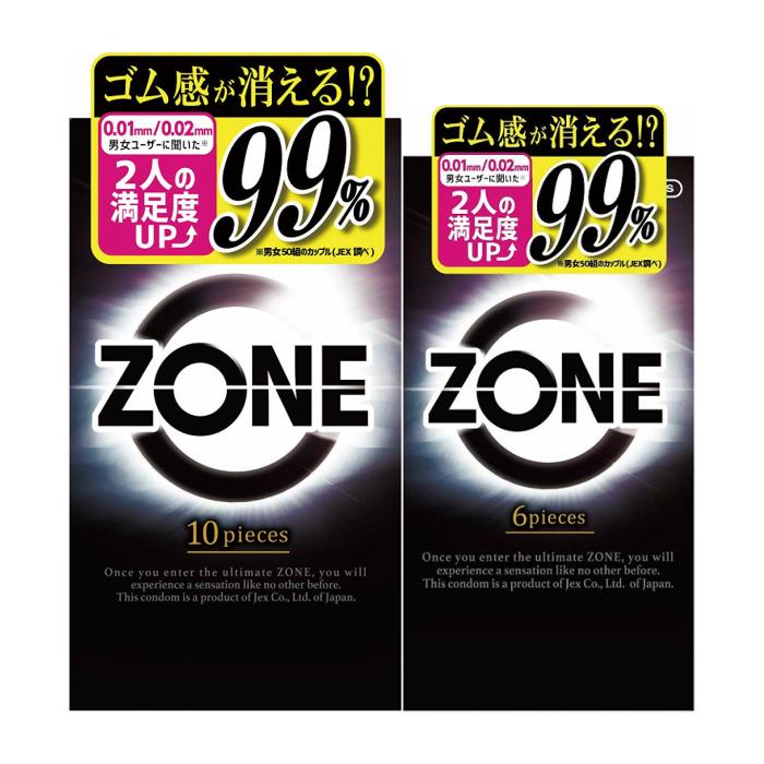ZONE ゾーン コンドーム 6個入 + 10個入セット