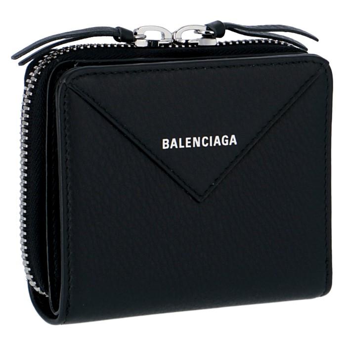 バレンシアガ BALENCIAGA 財布 PAPER ZA BILLFOLD 二つ折り財布 371662 DLQ0N 1000
