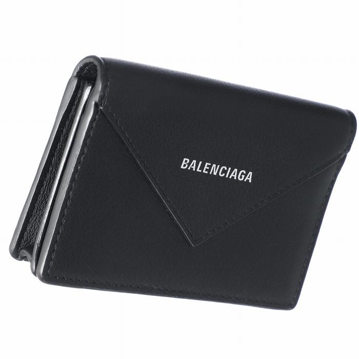 バレンシアガ BALENCIAGA 2019年春夏新作 カードケース ペーパー PAPIER ブラック 499201 DLQ0N 1000
