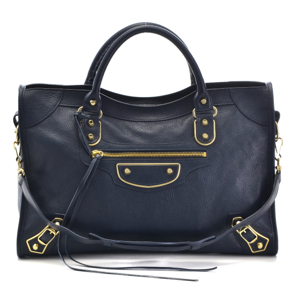 뒤지고 있었는데 BALENCIAGA METALLIC EDGE CITY 2WAY 핸드백 390154 AQ41G 4060