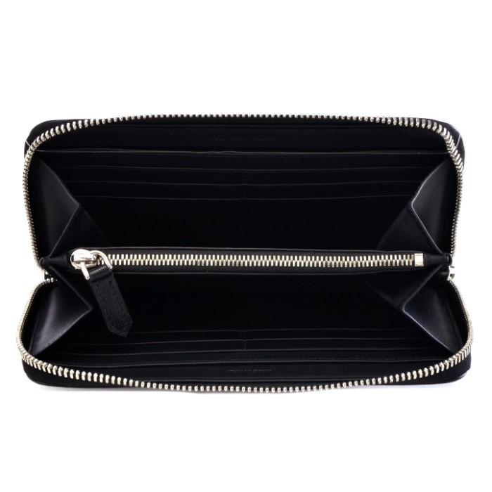 バーバリー BURBERRY 財布 型押しカーフスキン メンズ ラウンドファスナー長財布 ブラック系 3997588xQCWdBroe