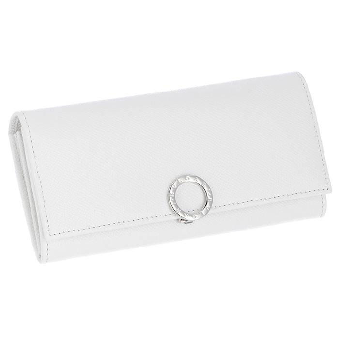 ブルガリ BVLGARI 財布 レディース BVLGARI BVLGARI 二つ折り長財布 ホワイト系 282017 0003 0056