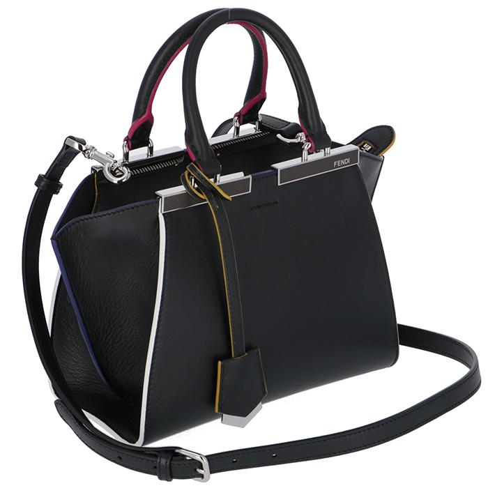 abb93cf1a26 amazingcircus  Fendi FENDI 3JOURS MINI 2WAY handbag black 8BH333 5C3 ...