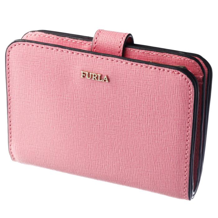 フルラ FURLA 2019年春夏新作 財布 二つ折り 二つ折り財布 バビロン BABYLON S ピンク系 PBF8 B30 KDR
