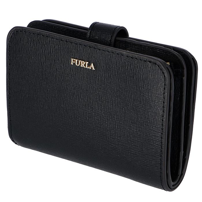 フルラ FURLA 2019年春夏新作 財布 二つ折り 二つ折り財布 バビロン BABYLON S ブラック PBF8 B30 O60