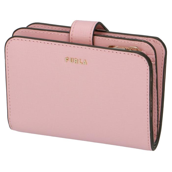 フルラ FURLA 2020年春夏新作 財布 二つ折り バビロン BABYLON S 1057113 ピンク系 PCY0 B30 05A