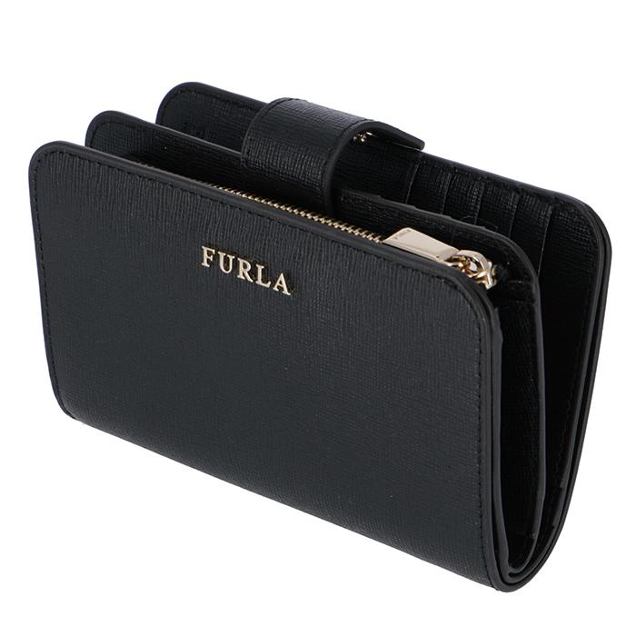 フルラ FURLA 財布 BABYLON バビロン 二つ折り財布 ブラック PR85 B30 O60