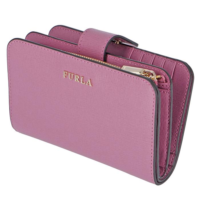 フルラ FURLA 2019年春夏新作 二つ折り財布 折り財布 バビロン BABYLON ピンク系 PR85 B30 WSF