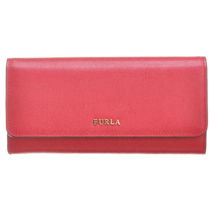 フルラ FURLA 財布 財布 バビロン BABYLON XL BIFOLD 二つ折り長財布 レッド系 PS12 B30 RUB