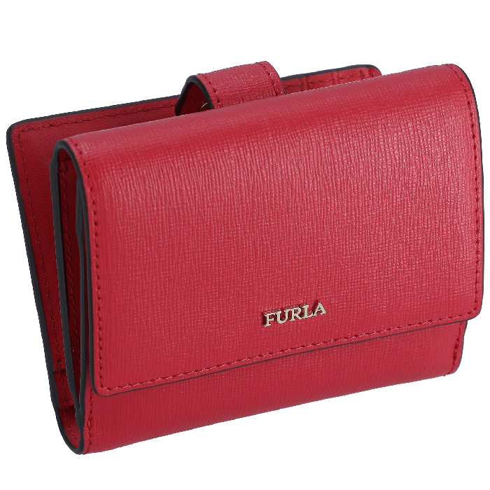 フルラ FURLA 2020年春夏新作 二つ折り ミニ財布 バイフォールド ウォレット BABYLON バビロン 1047012 レッド系 PZ57 B30 TJ9