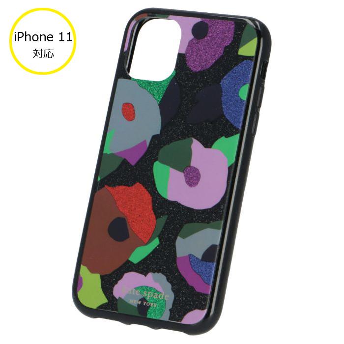 ケイトスペード KATE SPADE 2020年春夏新作 iPhone 11 ケース スマホケース アイフォン11 ケース ブラック系 8ARU6471 0015 098