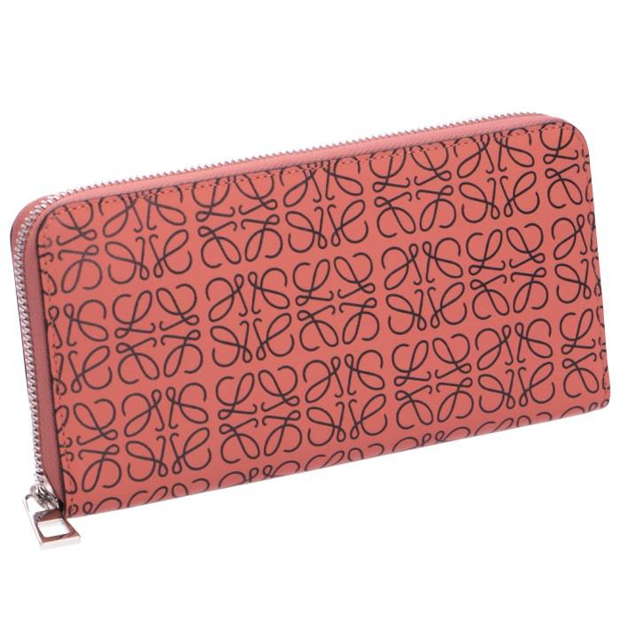 271511fbb22d ロエベ LOEWE 2019年春夏新作 財布 エンボスアナグラム zip around wallet ラウンドファスナー長 。