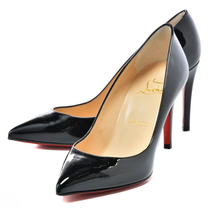クリスチャンルブタン CHRISTIAN LOUBOUTIN 靴 シューズ ヒール8.5cm ピガール PIGALLE パンプス ブラック 1100382 0002 BK01【06SALE】【19SS SALE】