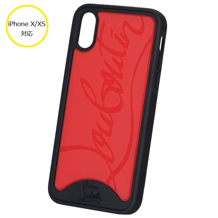 クリスチャンルブタン CHRISTIAN LOUBOUTIN 2020年春夏新作 iPhone X/XS ケース スマホケース アイフォンX/XSケース アイフォンケース ブラック系 1195360 0004 CM4H