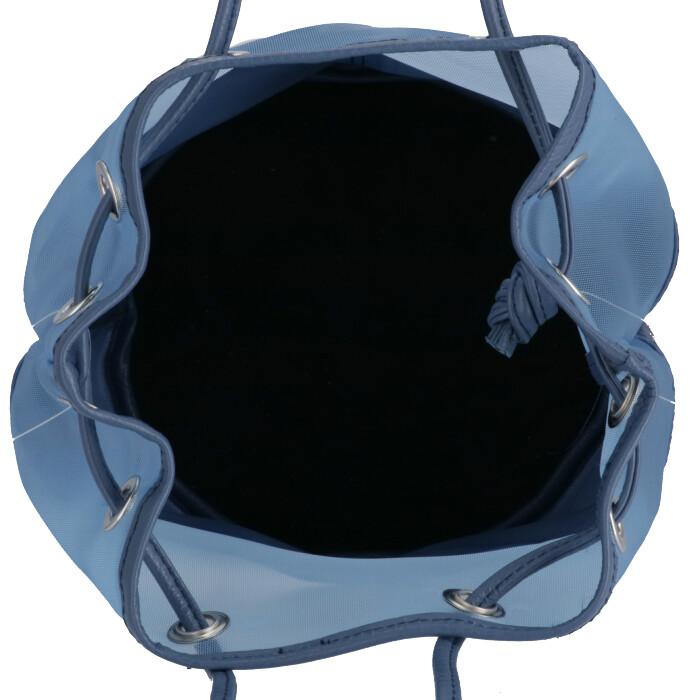 マルコ マージ MARCO MASI 2020年春夏新作 ショルダーバッグ バケツバッグ メッシュコンビ レザーバッグ ブルー系 2836 TULVIT BLUlcFK135TuJ