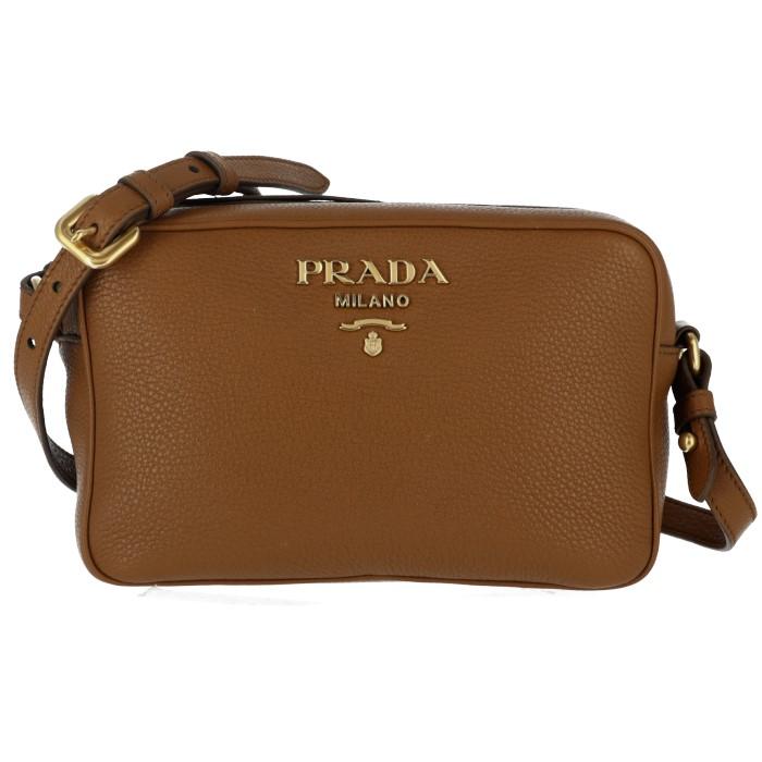 プラダ PRADA バッグ ショルダーバッグ 斜めがけ 替えストラップ付き ブラウン系 1BH093NOM 2BBE 401