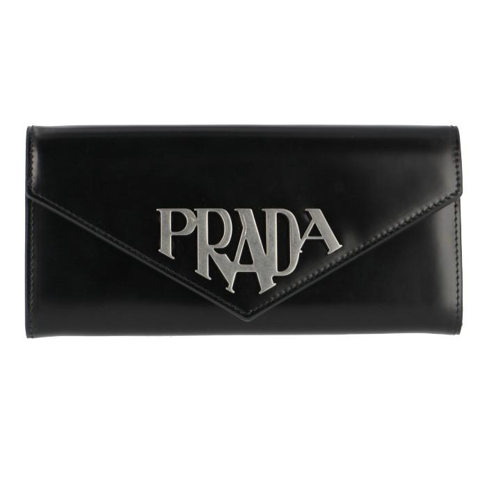 プラダ PRADA 長財布 レディース ブラック 1MH037 ZO6 002