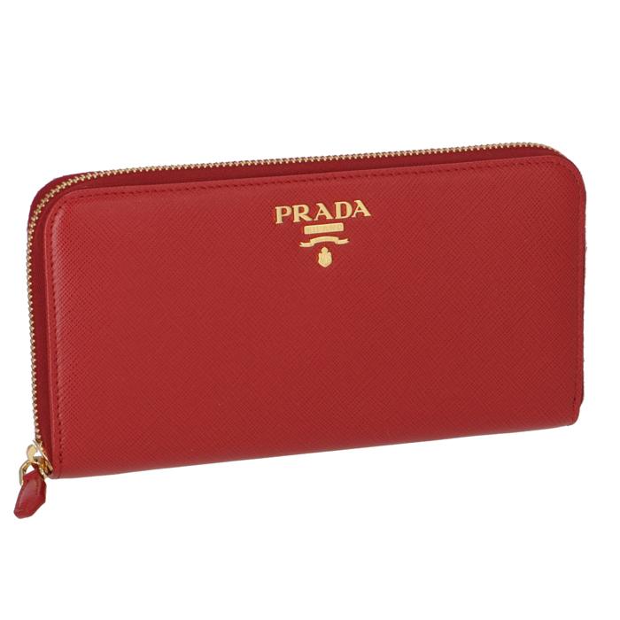 プラダ PRADA 2018年秋冬新作 財布 型押しカーフスキン ラウンドファスナー長財布 1ML506 QWA 68Z