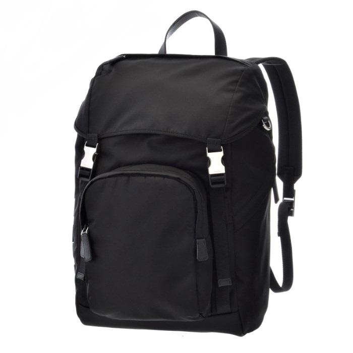 【春夏セール】プラダ PRADA バックパック メンズ バッグ リュックサック ブラック 2VZ135HAY 2ED3 002