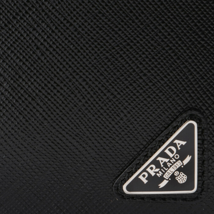 487fb4aa9df2 プラダ 2018年秋冬新作 財布 型押しカーフスキン メンズ 二つ折り財布 ...