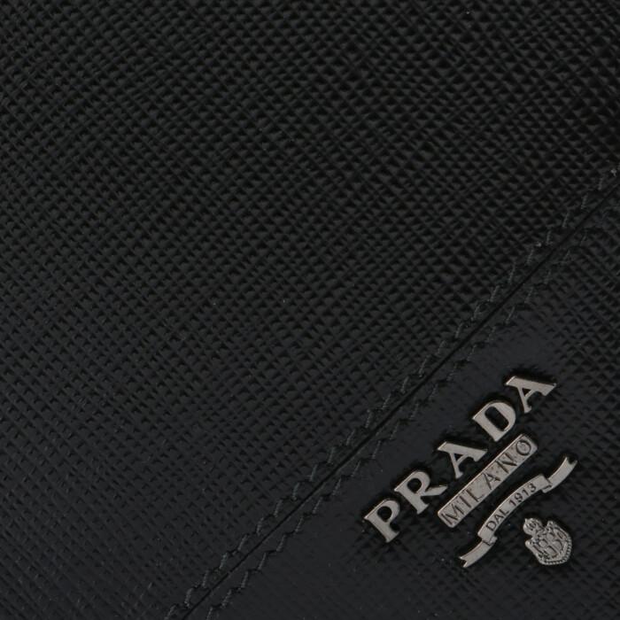 d6540eea53d4 ブランド名, PRADA. 商品名, プラダ PRADA サイフ さいふ メンズ 二つ折り財布 型押しカーフスキン ...