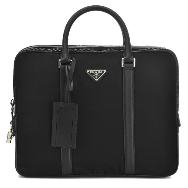Prada PRADA 2015 years autumn/winter new nylon men's business bag 2VE030 064 002