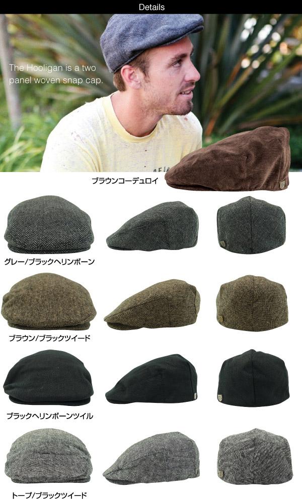 amb  Brixton hooligan hat (Brixton HOOLIGAN HAT hunting cap hat ... 80c40afbc14