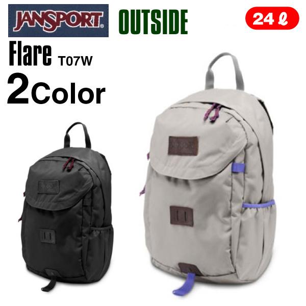 ジャンスポーツ フレア (JANSPORT FLARE リュックサック デイパック バックパック T07W)